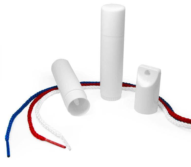 Plastic Lip Balm Tubes w/ Caps