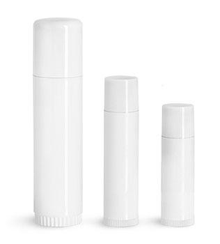 Plastic Lip Balm Tubes