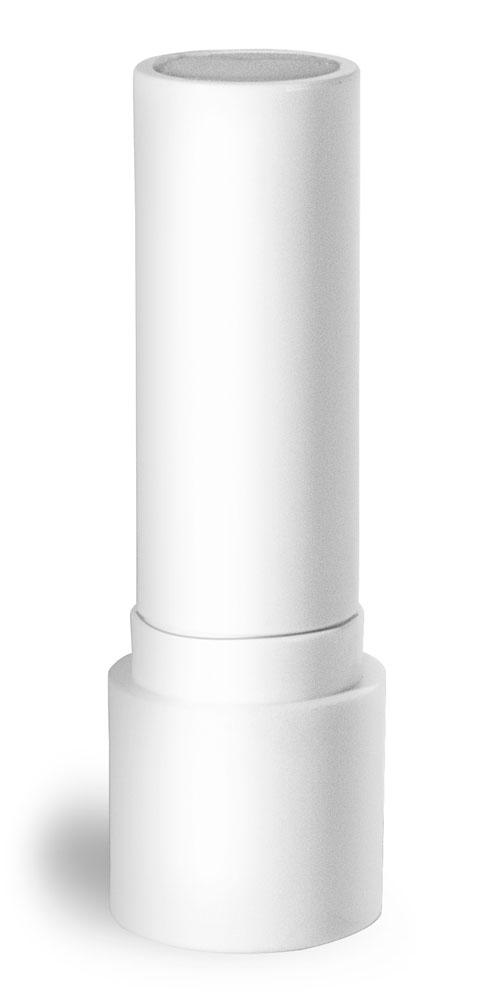 0.20 oz White Polypropylene Lip Balm Tubes (Bulk) Caps NOT Included
