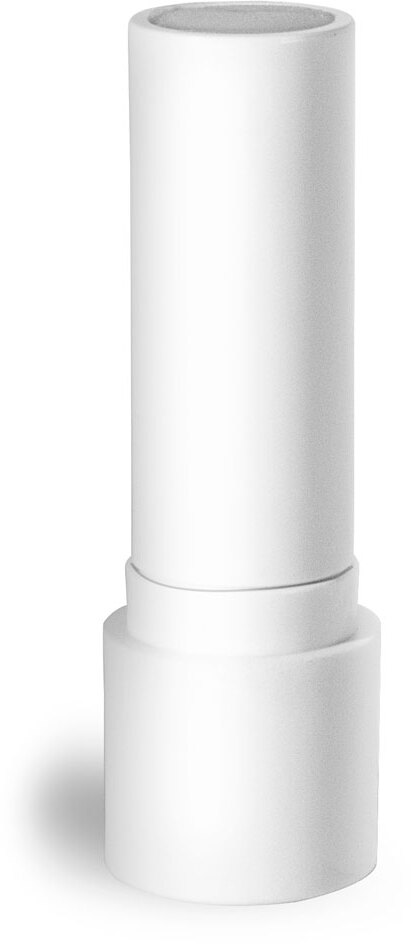 White Polypropylene Lip Balm Tubes (Bulk) Caps NOT Included