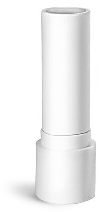 Lip Balm Tubes, 0.20 oz White Polypropylene Lip Balm Tubes (Bulk) Caps NOT Included
