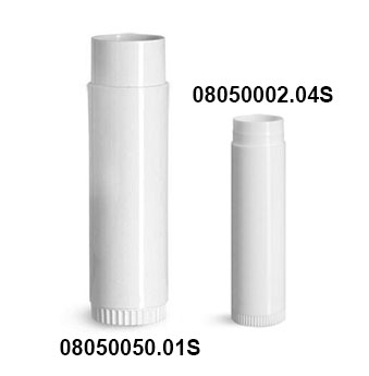 White Lip Balm Tubes (Bulk) Caps Not Included