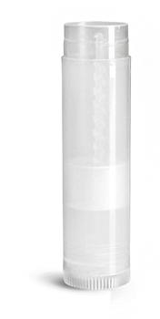 Lip Balm Tubes, Natural Polypro Lip Balm Tubes (Bulk), Caps Not Included