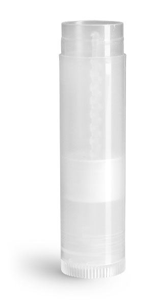 Lip Balm Tubes, Natural Polypro Lip Balm Tubes (Bulk), Caps Not Included