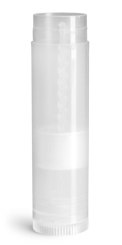 .15 oz Lip Balm Tubes, Natural Lip Balm Tubes (Bulk), Caps Not Included