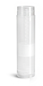 New Natural Polypropylene Lip Balm Tubes (Bulk)