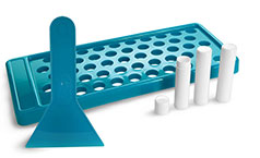 0.15 oz Size, 24 White Tubes Included0.15 oz Size, 24 White Tubes Included Lip Balm Filling Tray for Lip Balm Tubes