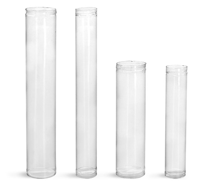 Plastic Tubes, Clear Round Plastic Tubes