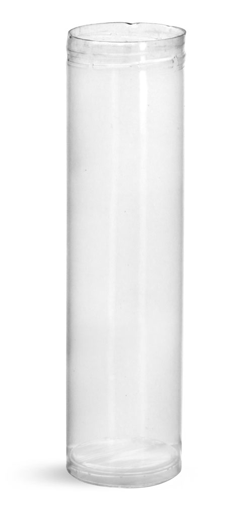50 ml Plastic Tubes, Clear Round Plastic Tubes
