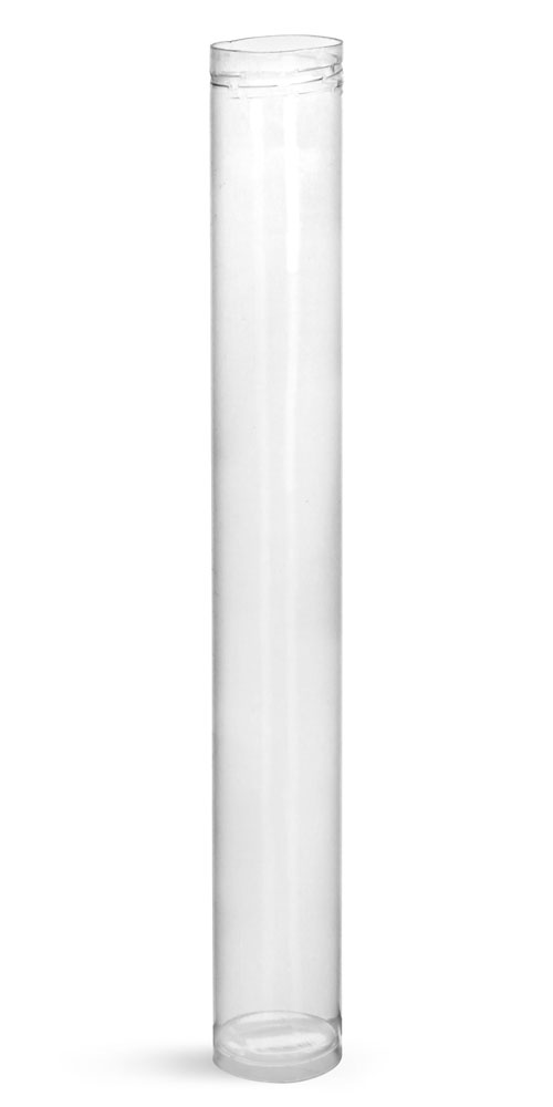 40 ml Plastic Tubes, Clear Round Plastic Tubes
