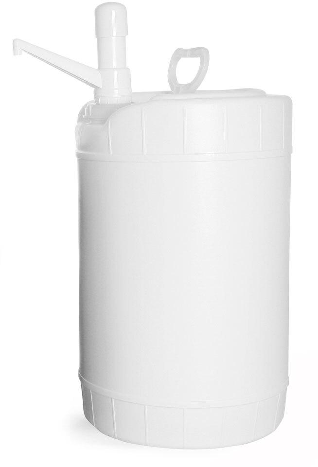 Storage Drums w/ Dispensing Pumps