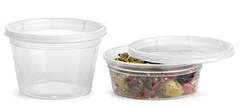 Clear Polypro Tubs w/ Clear Lids