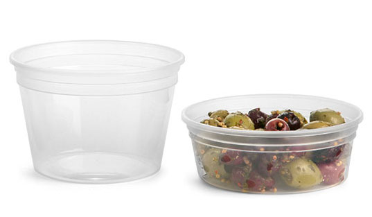 Clear Polypro Tubs (Bulk), Lids NOT Included