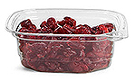 8 oz Clear PET (PCR) Deli Tubs (Bulk), Lids NOT Included