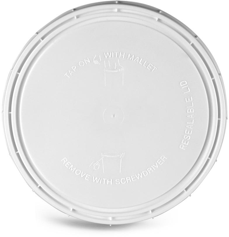 White Vapor Lock Covers