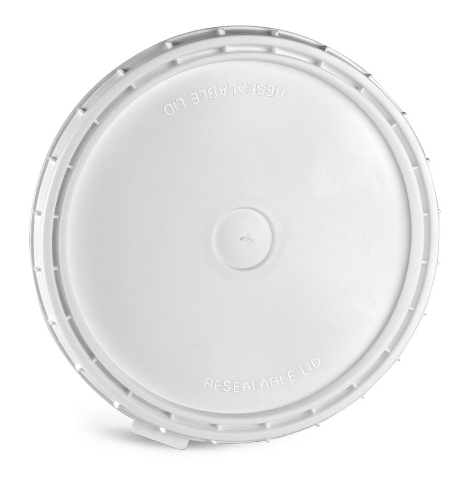 1 gal White Vapor Lock Covers