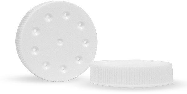 White Twist Sifter Cap