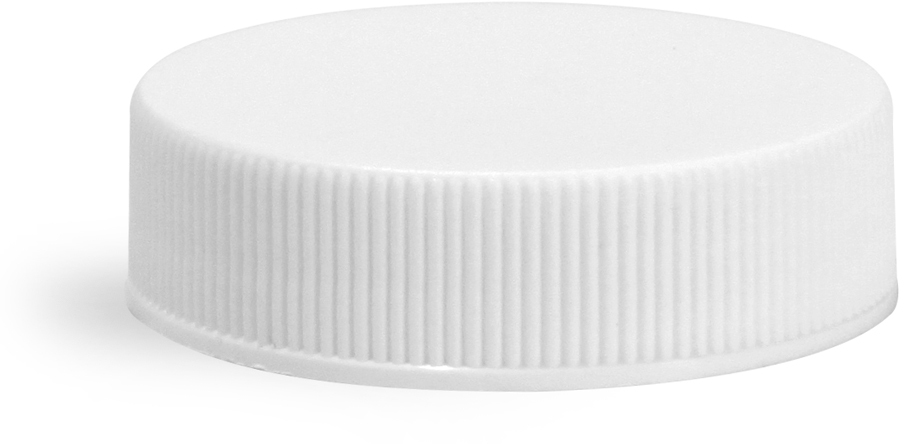 White Polypro Ribbed Closure w/ HSS-5.6/20 Foam Induction Liner