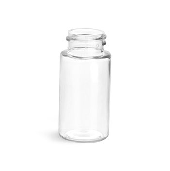 Clear PET Sample Vial, 22/400 (Bulk)