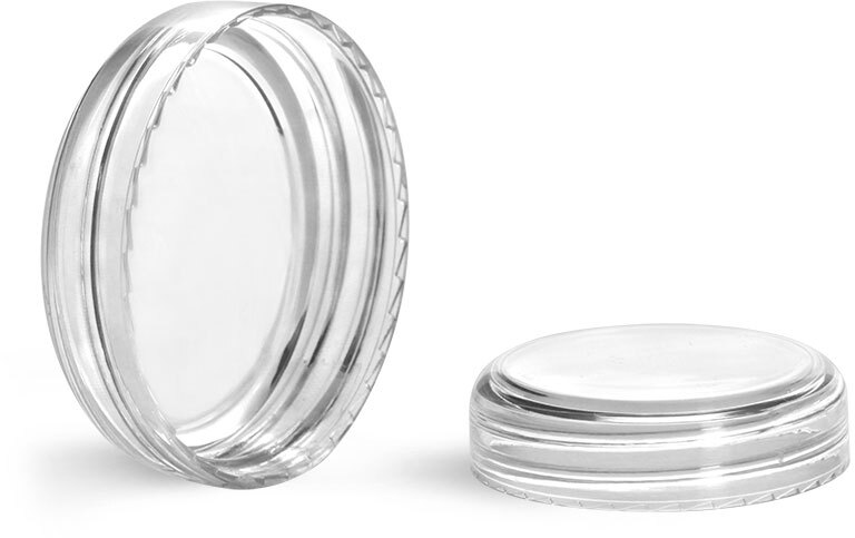 Clear Styrene Dome Caps