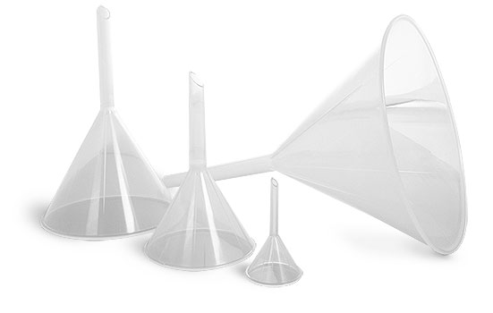 Plastic Funnels, Polypropylene Analytical Funnels