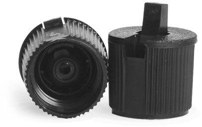 Black Plastic Spout Caps