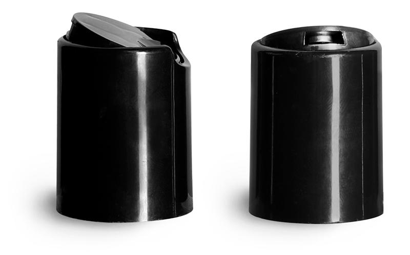 Black Disc Top Caps