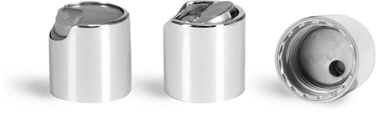 20/410 Silver Disctop Caps