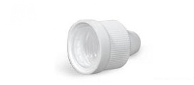Plastic Caps, Ribbed Polypro Child Resistant Dropper Tip Caps