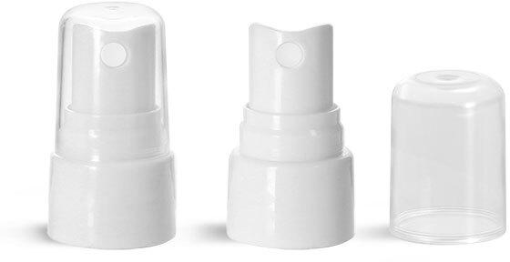 Sprayers, White Smooth Fine Mist Sprayers