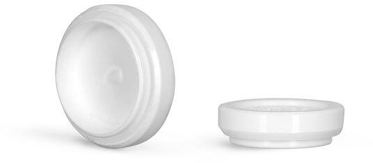 Plastic Caps, White Polypropylene Plugs For Child Resistant Sprayers