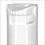 Polypropylene Plastic Bottles, White Cylinder Bottles w/ Child Resistant Sprayers & Plugs