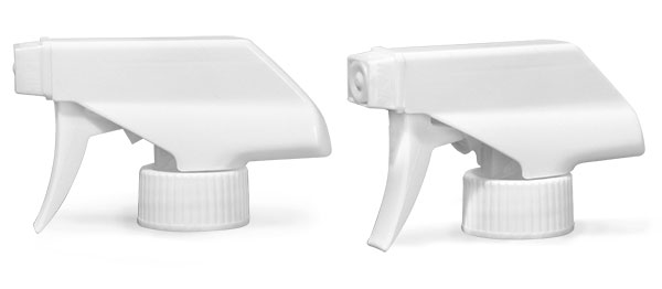Trigger Sprayers, White Polypropylene Trigger Sprayers