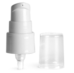 20/410, 3 1/2 inch tube Smooth White Polypropylene Treatment Pumps w/ 3 1/2 Inch Tube