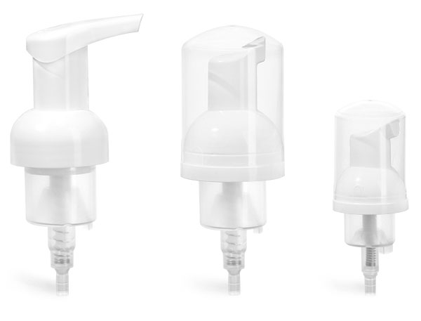 40 mm   White Polypropylene Foamer Pumps