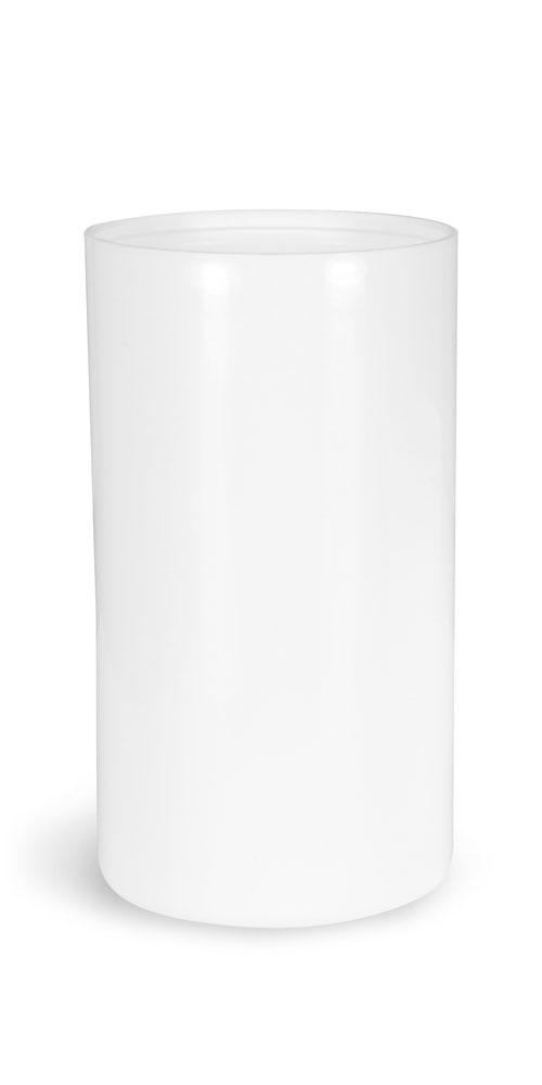 100 ml White Polypro Airless Pump Bottle (Bulk), Pumps & Caps NOT Included