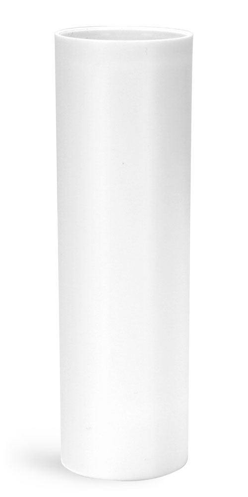 50 ml Plastic Bottles, White Polypropylene Airless Pump Bottles (Bulk), Pumps & Caps NOT Included