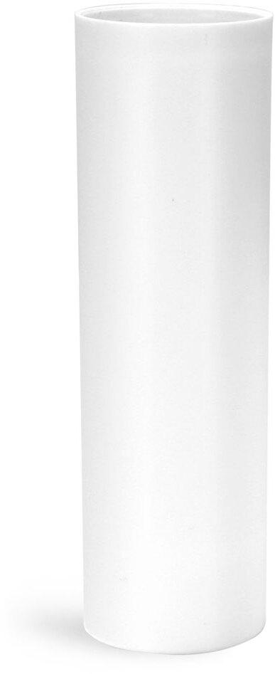 Plastic Bottles, White Polypropylene Airless Pump Bottles (Bulk), Pumps & Caps NOT Included