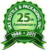 SKS Bottle & Packaging 25th Anniversary