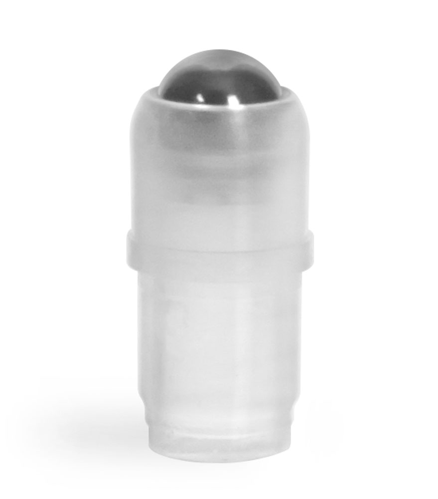 Plastic Caps, Ball and Fitments for Roll On Containers