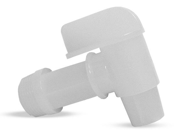 """Drum Faucets, 3/4"""" Natural Polyethylene Drum Faucet"""