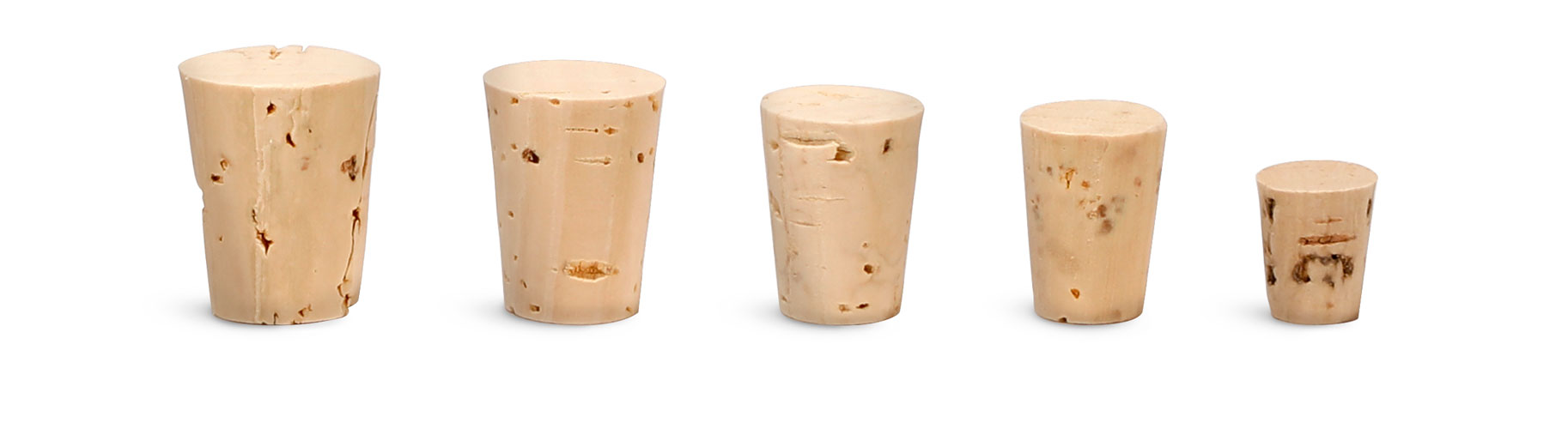 Cork Stoppers, Cork Stopper Sizes 000 - 5