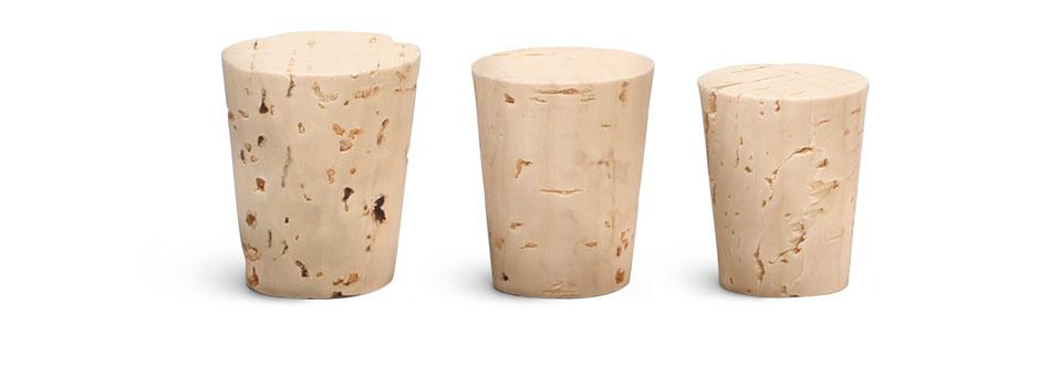 Cork Stoppers, Cork Stopper Sizes 6 - 11
