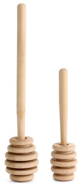 Wooden Honey Dippers