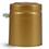 Capsules, Matte Gold PVC Heat-Shrink Capsules w/ Gold Tear Tabs