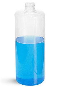 32 oz PVC Cylinder Round Bottles