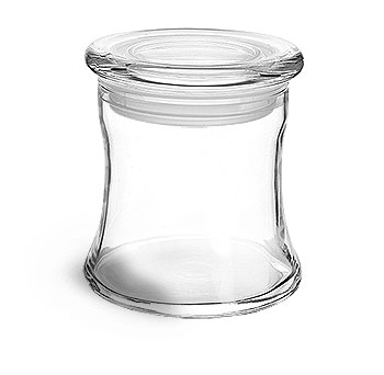 SKS Bottle & Packaging, Glass Jars, Clear Glass Candle Jars w ...