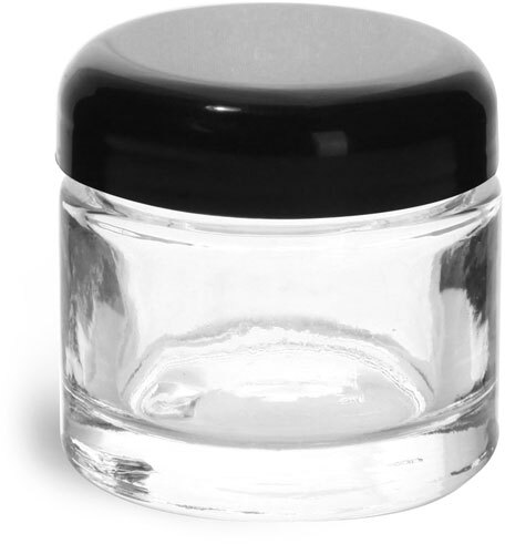 Black PP Smooth Dome Caps