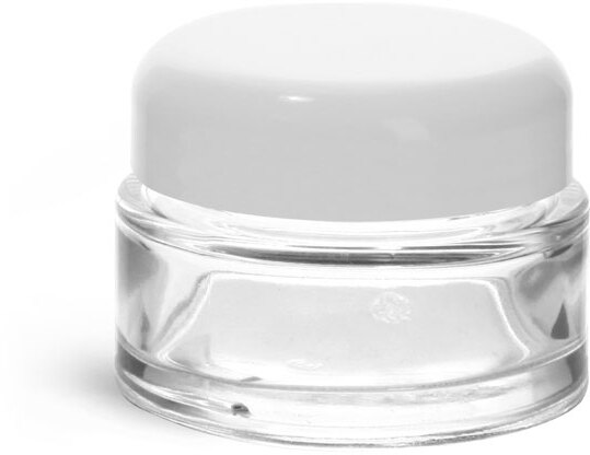 White PP Smooth Dome Caps