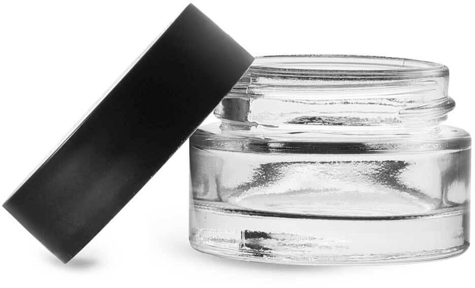 Matte Black PP Caps w/ PE- Liners